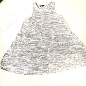 one clothing Shift Dress Heather Gray- Small